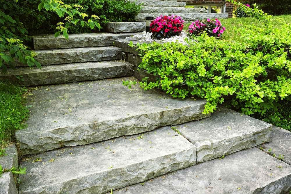 stone landscaping near me