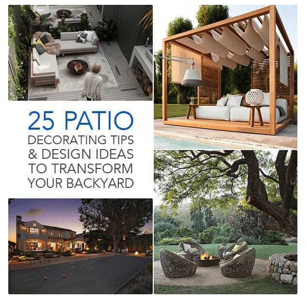 25 patio decorating designs